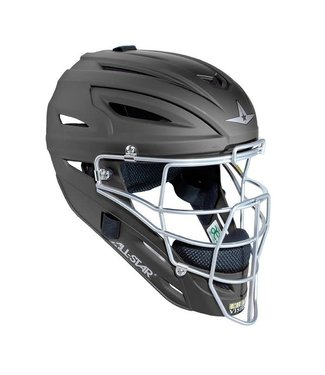 All Star ALl-Star MVP2500 Black catcher helmet matte finish
