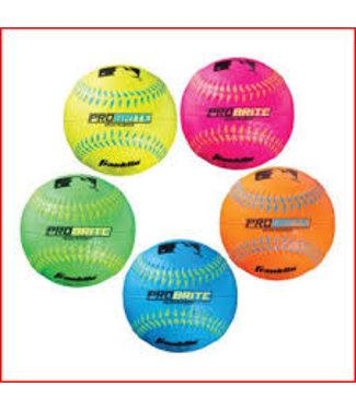Franklin Franklin MLB® Probrite Neon Rubber Tee ball - unit