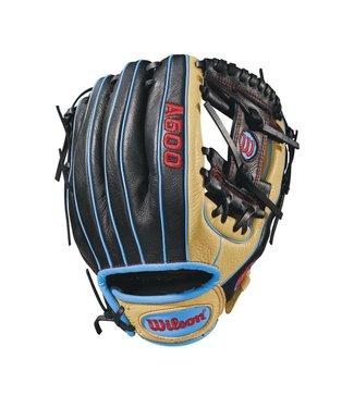 """Wilson Wilson 2018 A500 11.5"""" baseball glove - LHT"""