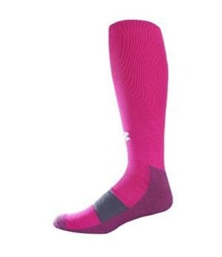 Under Armour Under Armour Performance Over The Calf Socks Men Pink Large