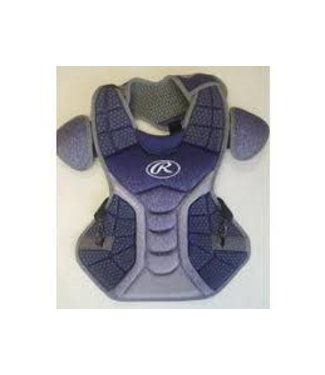 Rawlings Rawlings Velo adult chest protector NAVY and WHITE CPVEL-MA/W