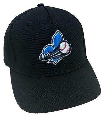 Louisville Slugger Casquette d'arbitre Baseball Quebec nouvelle noire