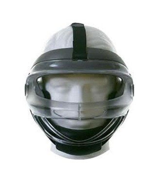 Combat Combat Faceoff Mask Black/Grey Medium youth