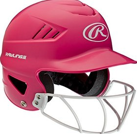 Rawlings Rawlings Cool-flo Series Softball mask Helmet Pink