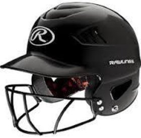 Rawlings Rawlings Cool-flo Series Softball Helmet black