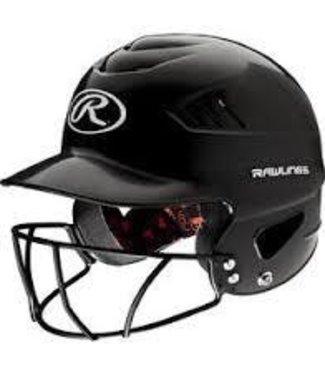 Rawlings Rawlings Cool-flo Series Softball Helmet black