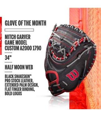 Wilson Wilson A2000 June 2020 Glove of the month Mitch Garver 1790 game model custom catcher glove 34'' RHT