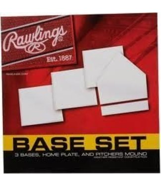 Rawlings Rawlings BASESET indoor Base set  (5pcs)
