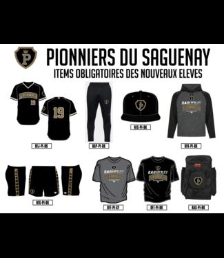 Pionniers du Saguenay Lac St-Jean  - items obligatoires dans l'inscription nouveaux eleves