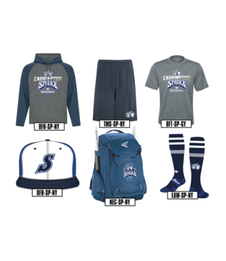 On Field Short Team 365 bleu marine avec poches et logo Sphinx en sérigraphie -  TMS-SP-NY