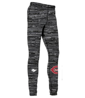 On Field Pantalons de compression (legging de sport) On Field avec design Cimes de St-Jerome en sublimation OFC-CI-BK