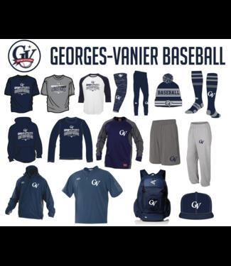On Field Tuque avec pompons avec logo Georges-Vanier (OSFA) - OFK-GV-NY