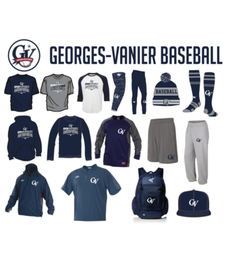 On Field T-shirt OF dry-fit avec logo GV Baseball
