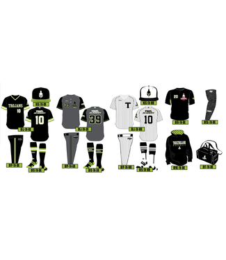 TNXL Trojans Mandatory items - Player uniforms part 1