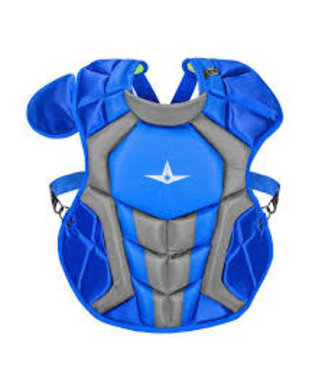 All Star All-Star Axis system 7 Catcher's chest protector royal/grey CPCC1216S7X  Age 12-16