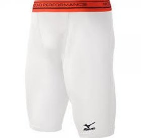 Mizuno Mizuno Elite Sliding Short White Youth