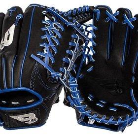 B45 B45 Diamond Series Fielding Glove Black/Blue RHP 11.75''