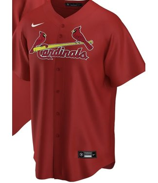 Nike Nike MLB Team red full button  Jersey St.Louis Cardinals