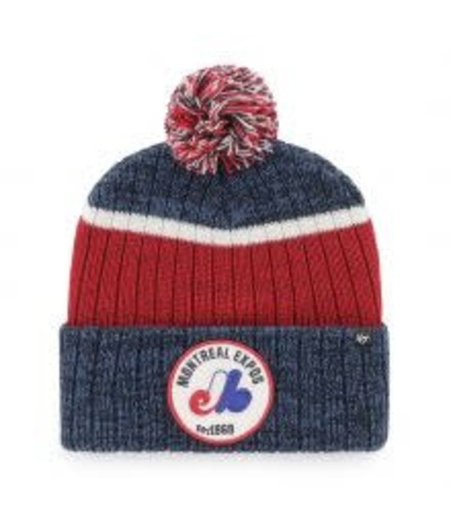 47Brand 47 Brand MLB Holcomb Montreal Expos 1969 knit /tuque Cooperstown