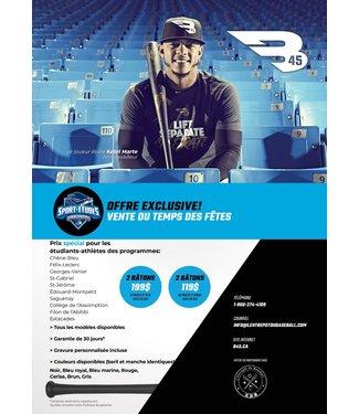 B45 B45 Spécial vente du temps des Fêtes - Programme sport-études