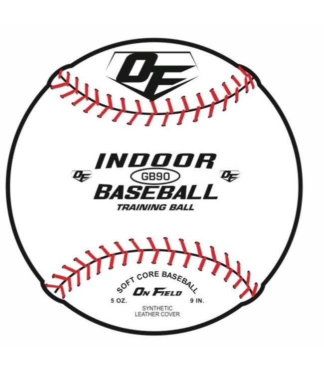 On Field On Field indoor practice GB90 ball 9'' - dozen