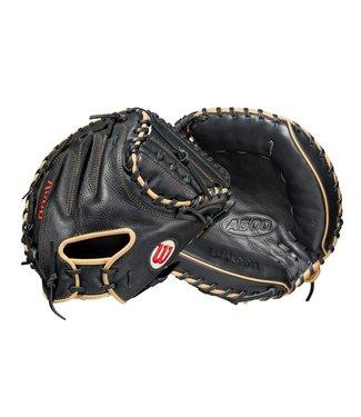 Wilson Wilson A500 Catcher's  baseball Mitt  32'' RHT