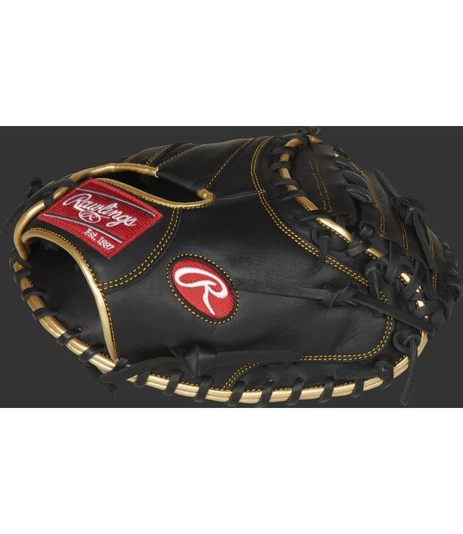 Rawlings Rawlings 2021 R9 series R9CM325BG catcher's mitt 32.5'' RHT