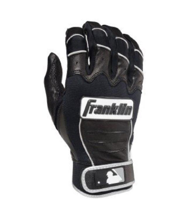 Franklin Franklin CFX Pro Batting Gloves Black/Black