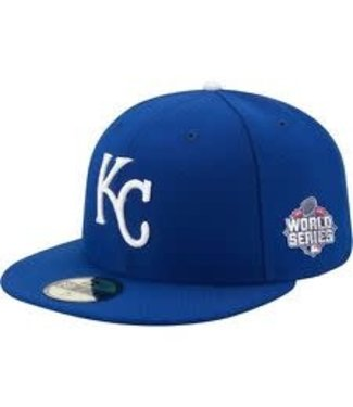New Era New Era 5950 youth Kansas City Royals World Series Cap