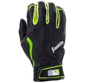 Franklin Franklin Freeflex Batting Gloves Black/Black