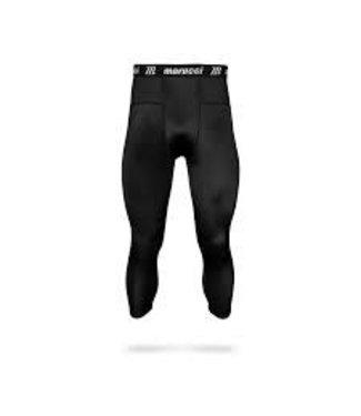 Marucci Marucci Men's 3/4 compression Tights black