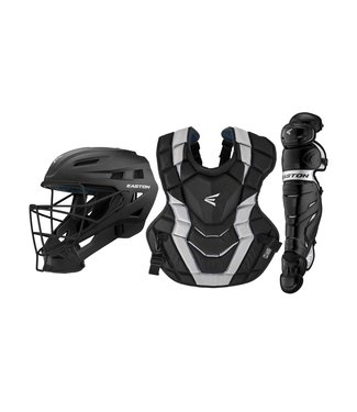 Easton Easton Elite X Catcher Set YTH Black/Silver