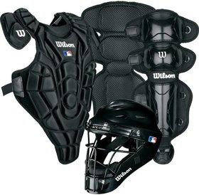Wilson Wilson EZ Catcher gear Kit L-XL ages 7-12 Black
