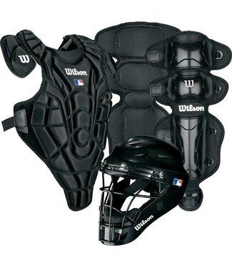 Wilson Wilson EZ Catcher gear Kit L-XL ages 9-12 Black