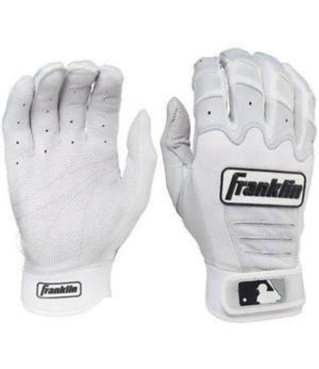 Franklin Franklin CFX Pro Batting Gloves Pearl/White