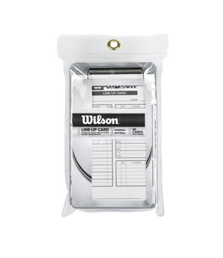 Wilson Wilson Line-Up Cards 30PK Boxed