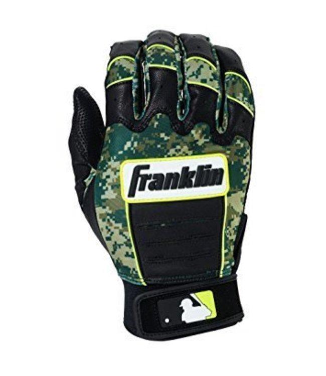 Franklin Franklin CFX Pro Digi Series Batting Gloves Black/Green Digi-Camo