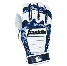 Franklin Franklin CFX Pro Digi Series Batting Gloves White/ Navy Digi-Camo