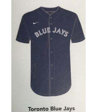 Nike Nike MLB Team blue full button Jersey Toronto Blue Jays