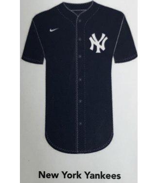 Nike Nike MLB Team navy full button Jersey New York Yankees