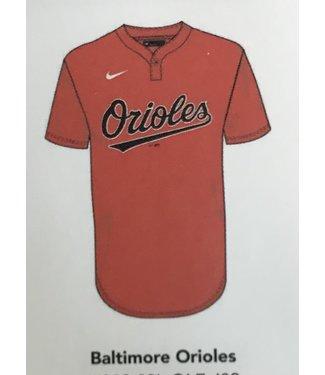 Nike Nike MLB 1-button jersey Baltimore