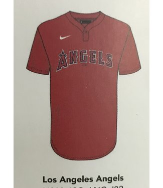 Nike Nike MLB 1-button jersey Los Angeles Angels