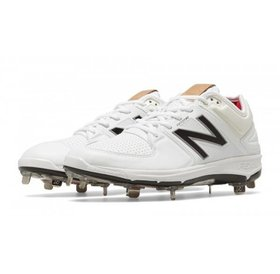 New Balance Athletic New Balance Low 3000 White/Silver Mens Shoe