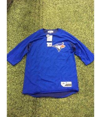 Majestic Majestic On-field 3/4 sleeve BP trainer Blue Jays