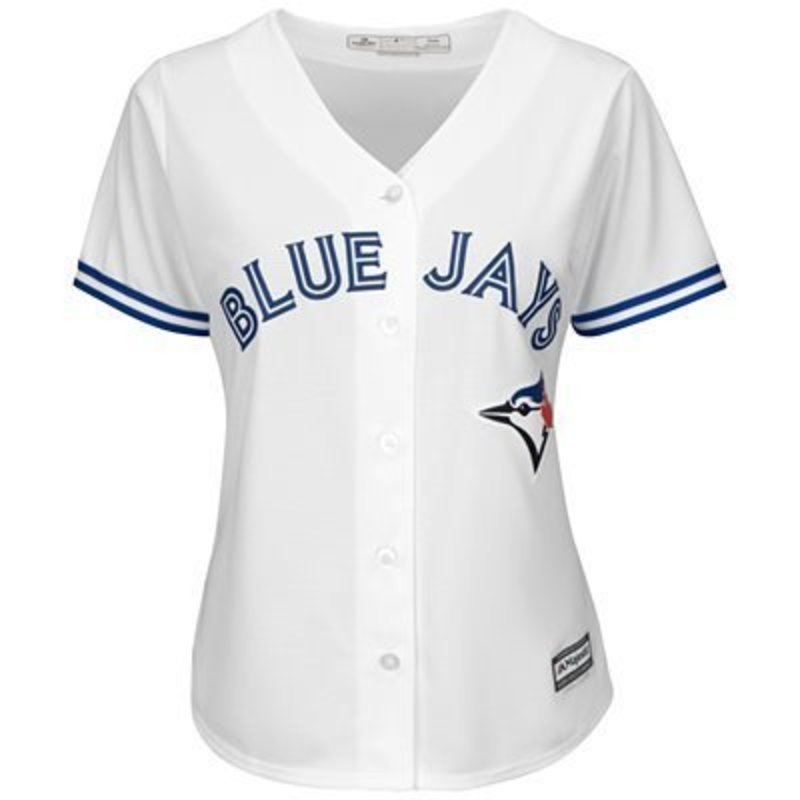 timeless design e1b36 8aace Majestic Womens Cool Base® Alternate Jersey - Toronto Blue Jays