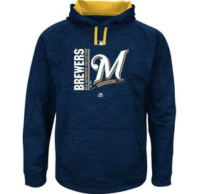Majestic Majestic On-Field Team icon streak fleece 2017 Brewers