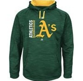 Majestic Majestic On-Field Team icon streak fleece 2017 Athletics