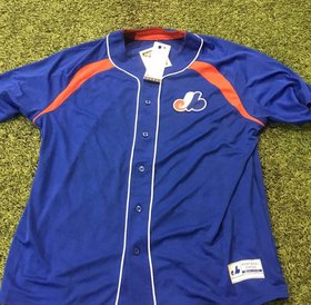 Majestic Majestic Expos Peak power output jersey