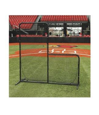 Sideline Sports Sidelines pitcher L-screen frame protective net
