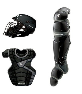 Easton Easton M10 Custom Catcher's Set Youth 9-12 years old Black/Silver